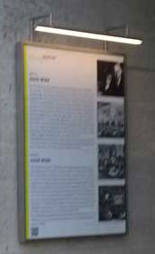Gedenktafel am Haus Wien